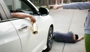 Drunk Driving Pedestrian Accident
