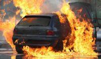 Vehicle Fire in the HRBT, Norfolk, Virginia